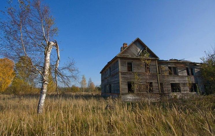 Назия — деревня-призрак
