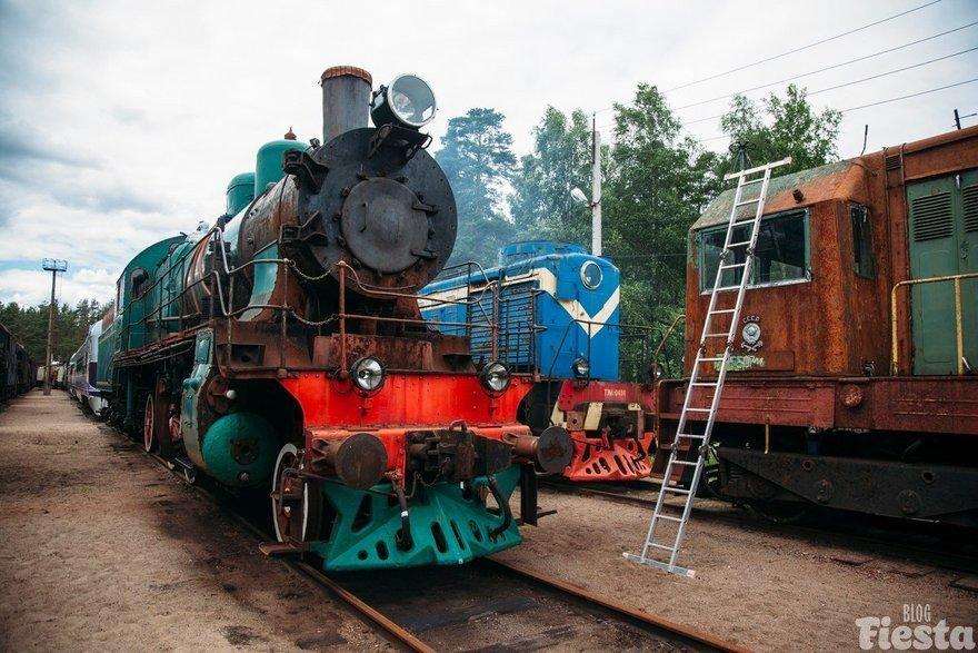 Фондовая площадка списанных поездов «Пионерский парк»