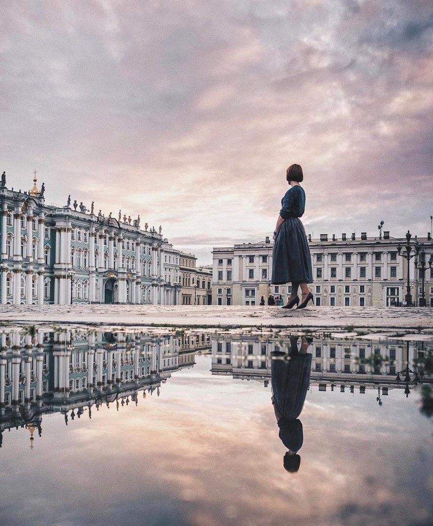 Эрмитаж и Дворцовая площадь