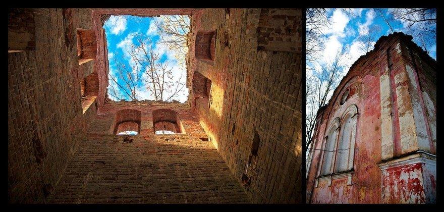 Руины церкви Николая Чудотворца, Копорье