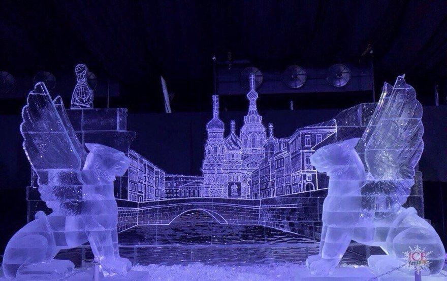 83 Ледяные скульптуры в СПб 2018  2018
