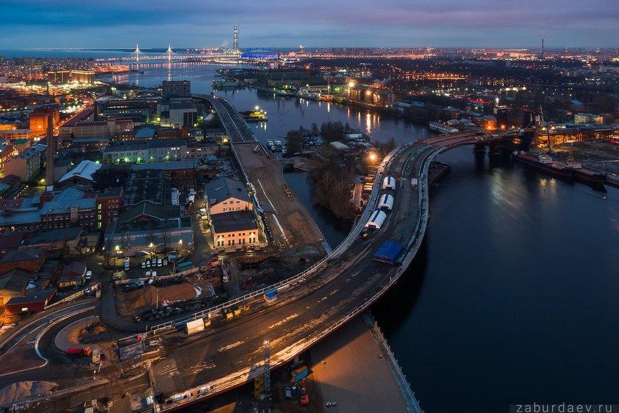 мост через остров серный фото из проекта нее