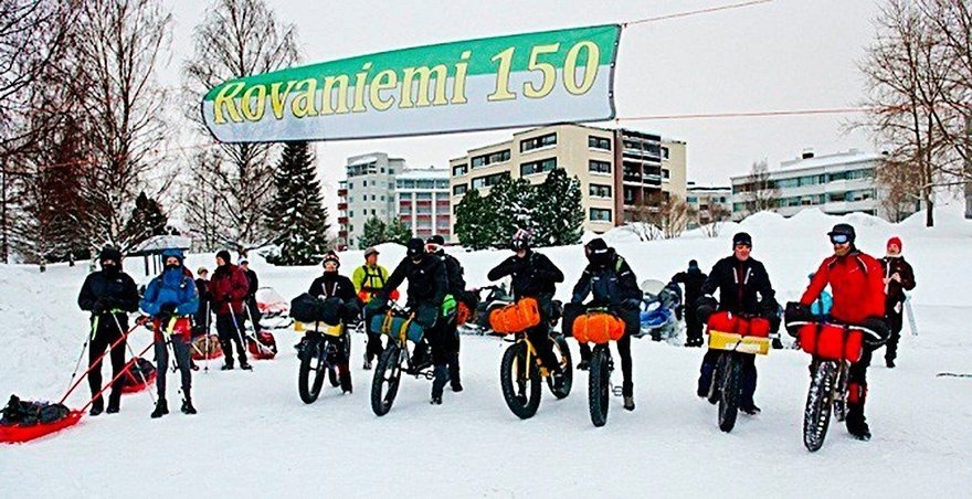 Arctic Winter Race