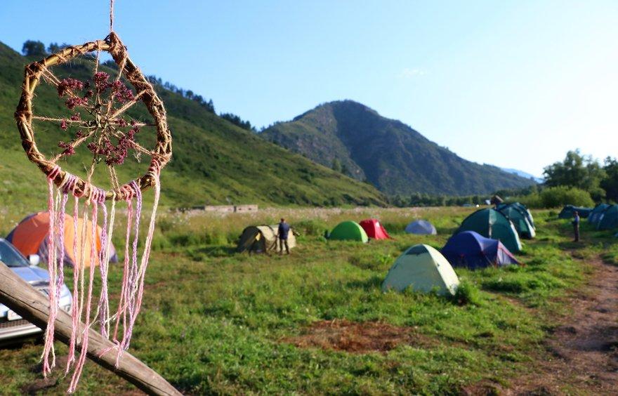 Археологическая экспедиция на Алтай