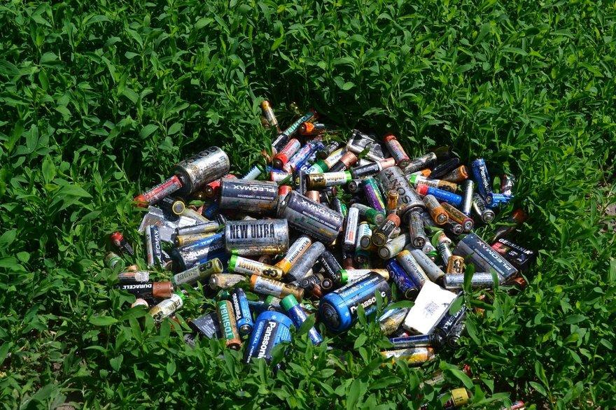 Чем опасны просто выброшенные батарейки