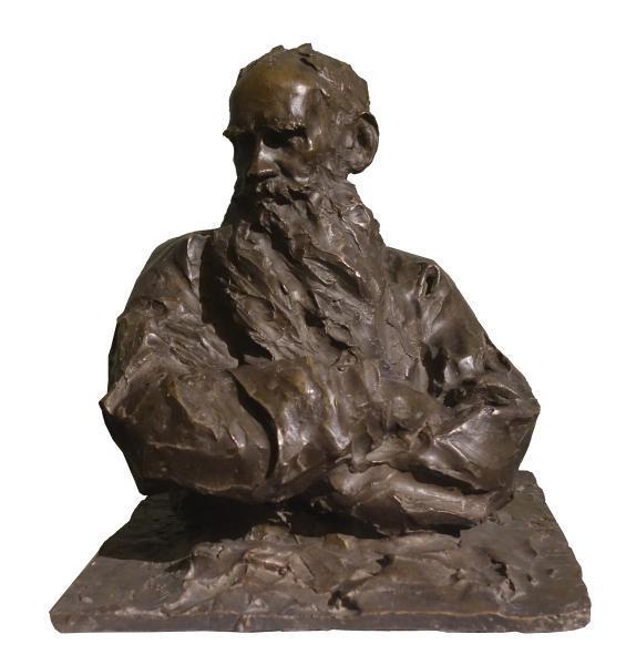 Паоло Трубецкой. «Портрет Льва Толстого», 1899 год