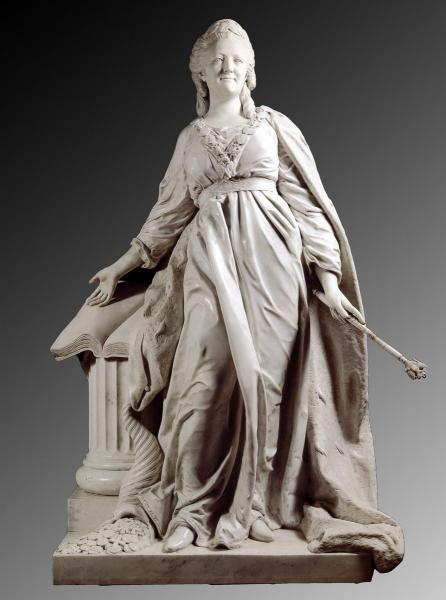 Федот Шубин. «Екатерина II — законодательница», 1789 год