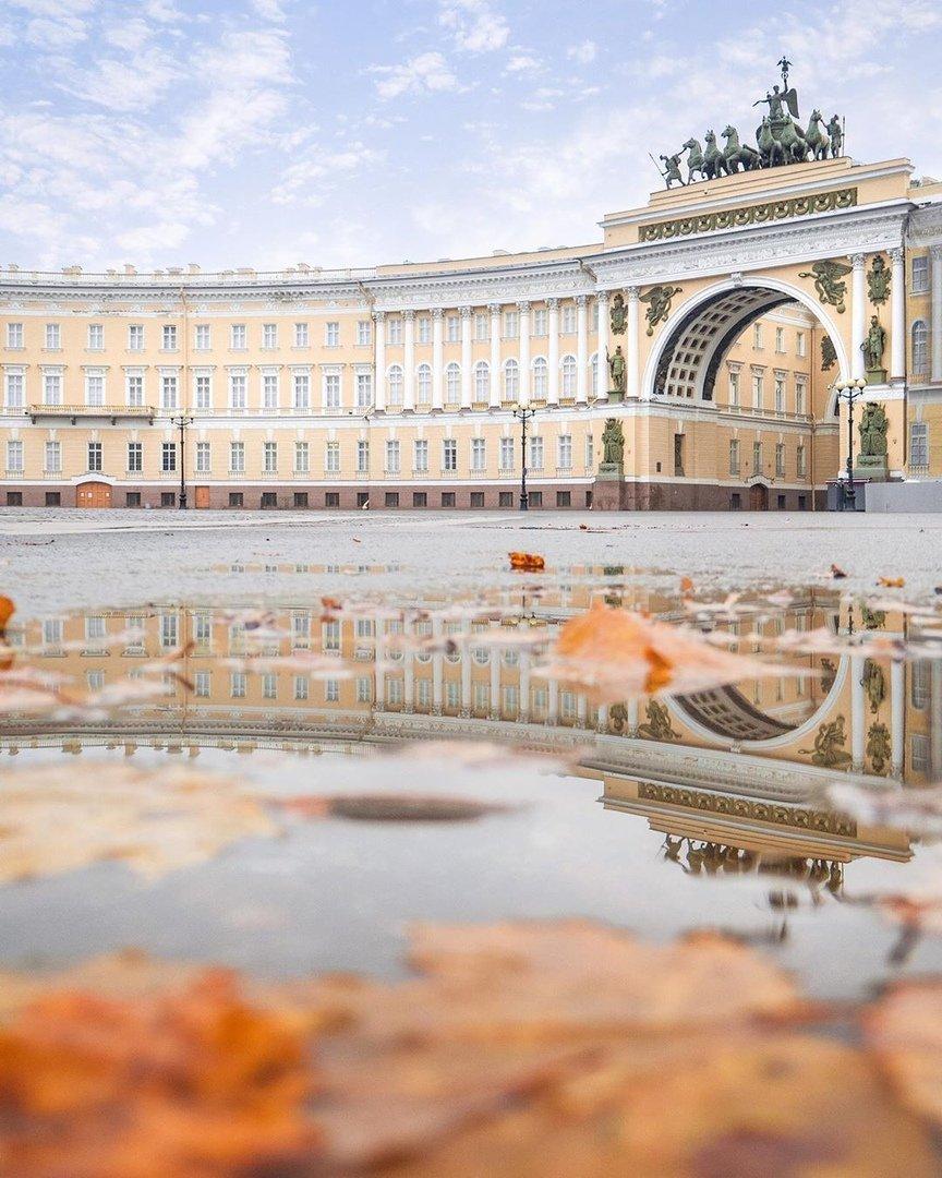 В Петербурге закончится аномально теплая осень