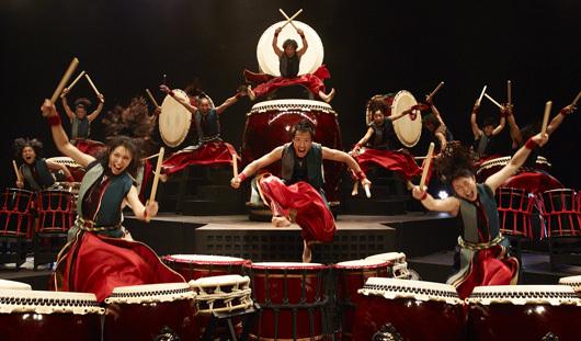 Музыку Японских Барабанов