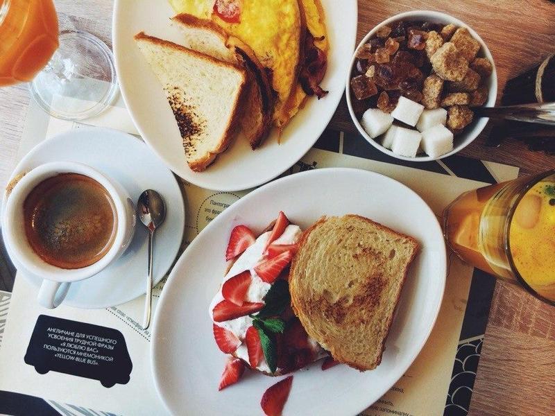 ресторан здорового питания в москве меню