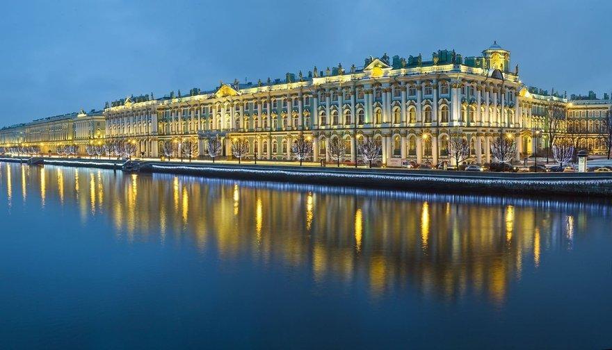 Достопримечательности Санкт-Петербурга. Зимний дворец