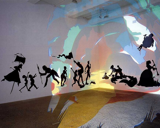 Kara walker projections
