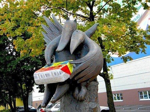 Памятник сыру «Дружба»