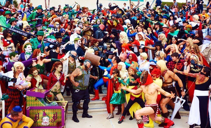 Comic Con Saint-Petersburg 2015