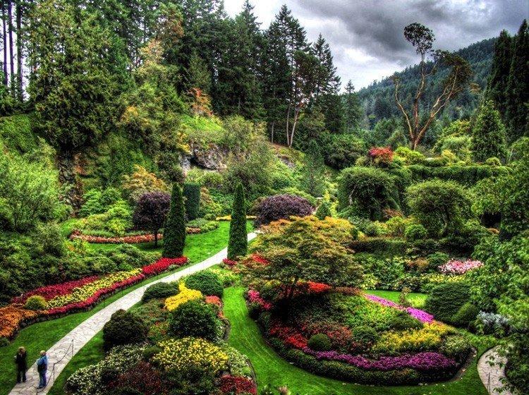 Самые прекрасные сады картинки