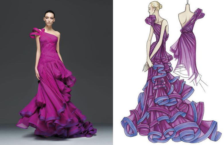 Курсы Fashion Design & Illustration