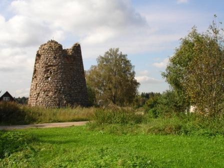Усадьба и Волковицкая башня