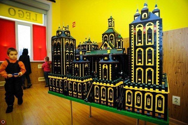 Lego музей дворцов и замков