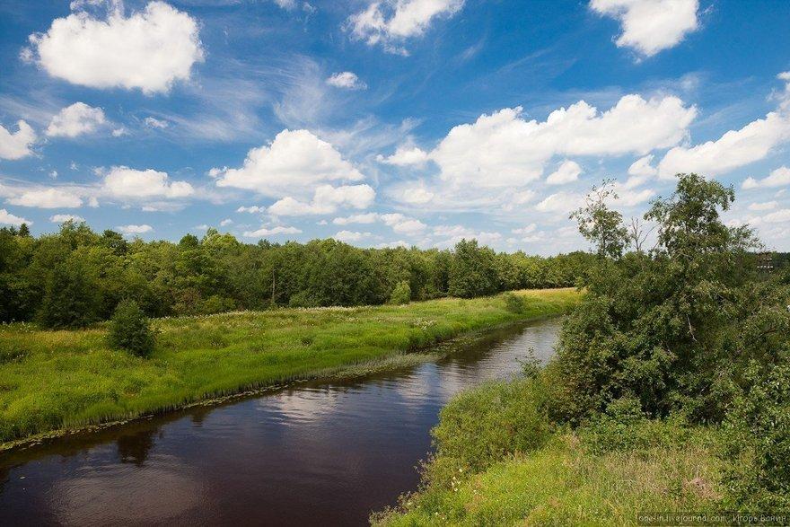 15 рек Ленинградской области, на которых можно отдохнуть