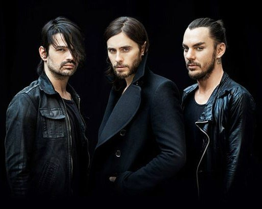 Концерт 30 Seconds to Mars в Петербурге