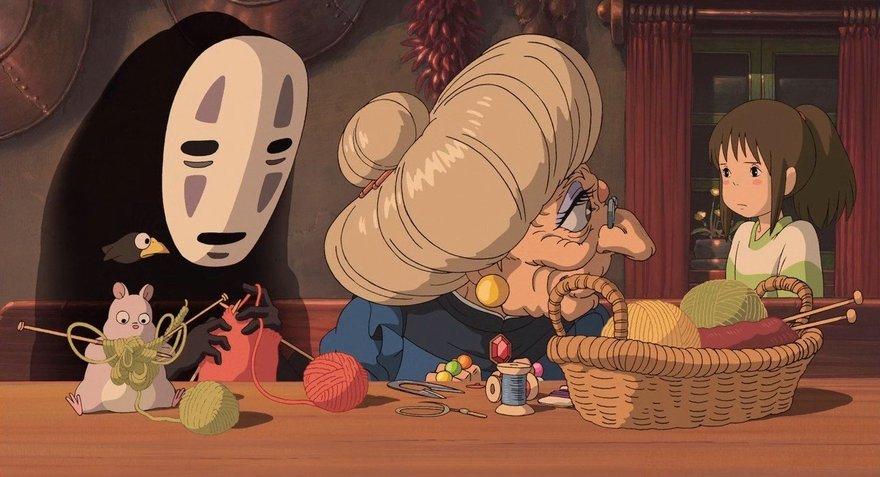 хаяо миядзаки список мультфильмов помощью