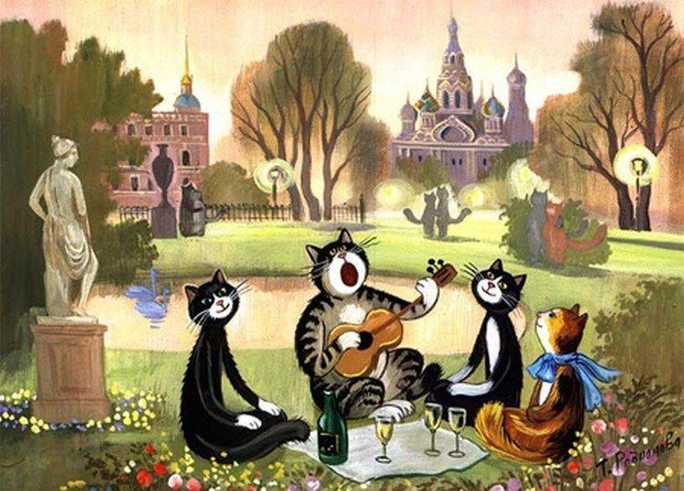Надо знать: как появился Всемирный день петербургских котов | Blog Fiesta