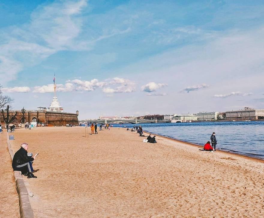 карте фото с пляжей санкт петербурга проснулась раньше