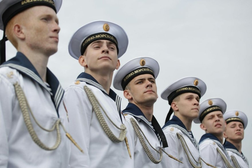 Фото морской флот форма